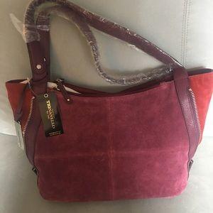 Tignanello Suede expandable Bag